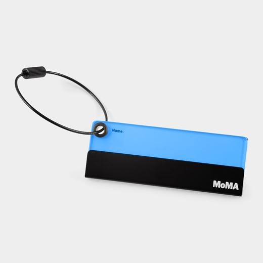 MoMA ラゲージタグ ブルーの商品画像