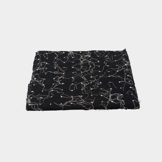 交差糸 スカーフの商品画像
