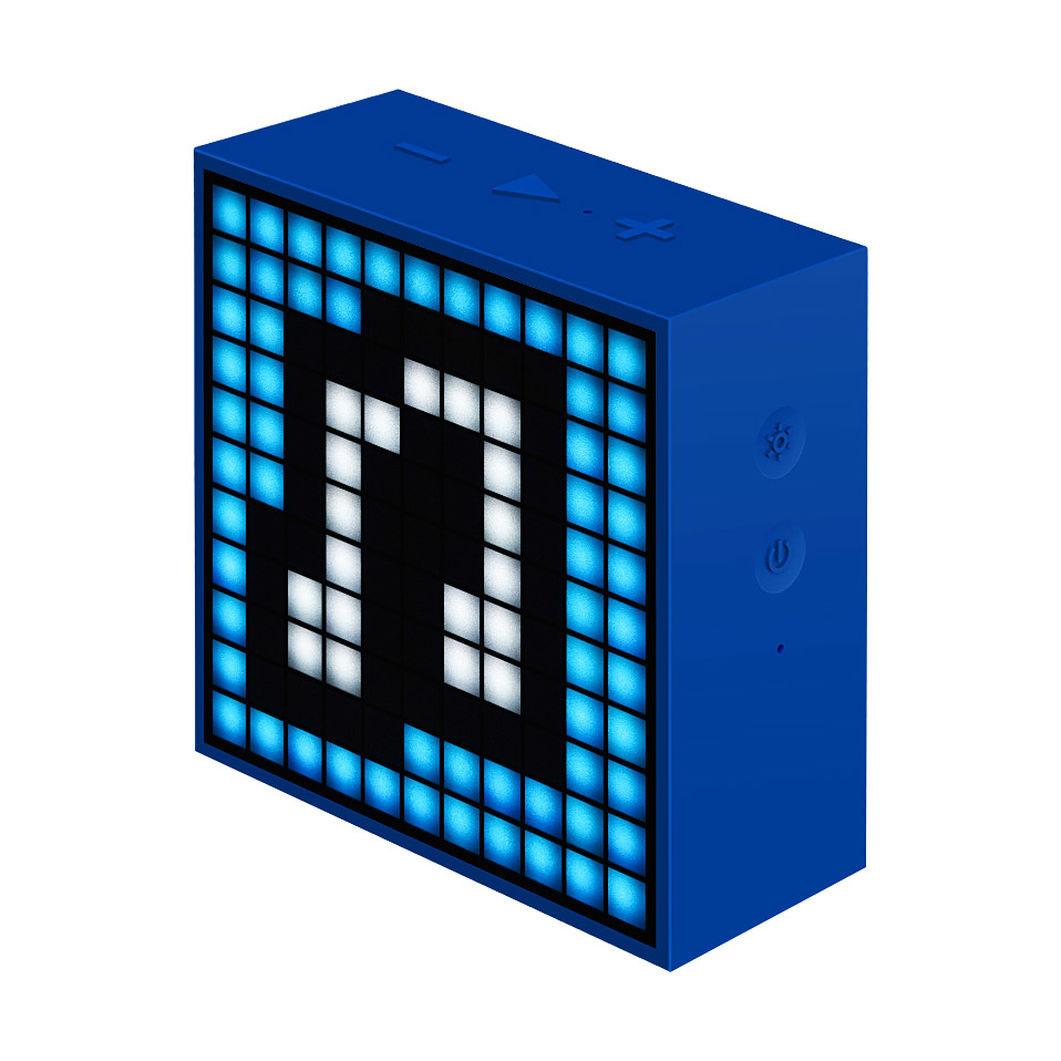 MoMA STORETIMEBOX ミニクロックスピーカー ダークブルー