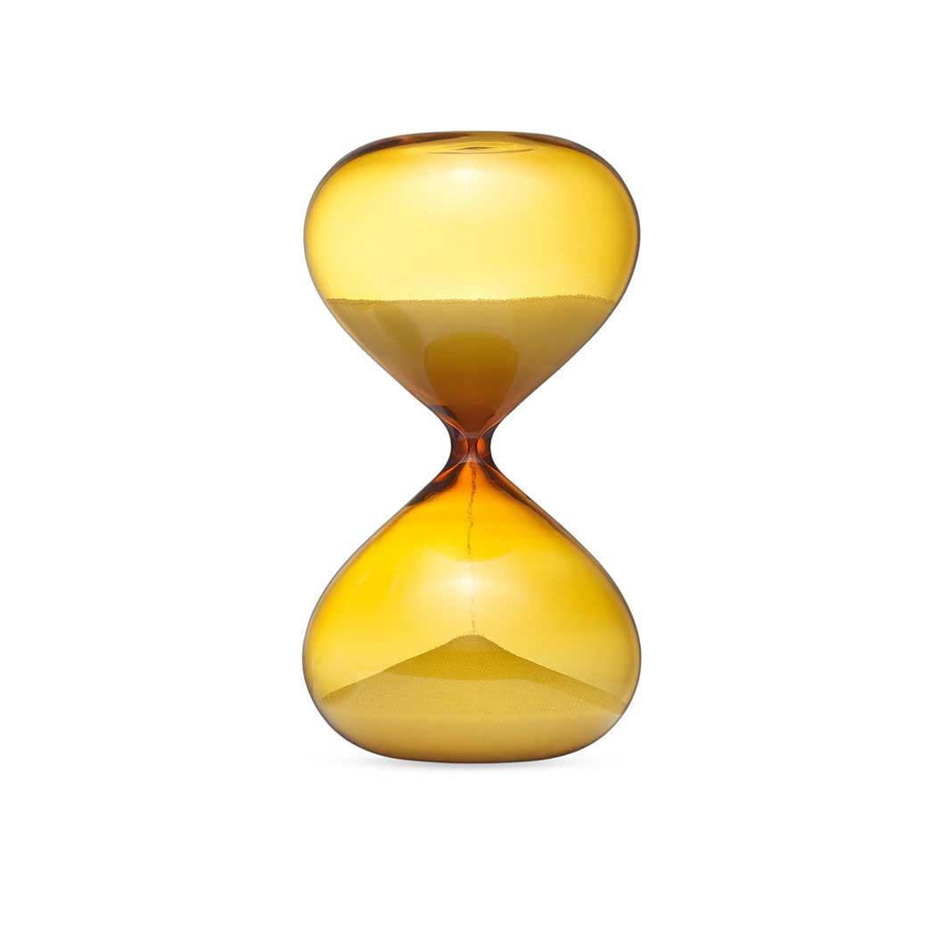 ColorPLAY 砂時計 15min アンバー/ホワイトの商品画像