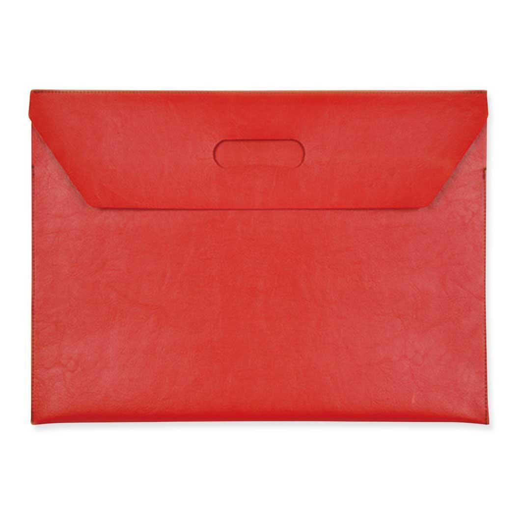 フラップファイルバッグ レッドの商品画像