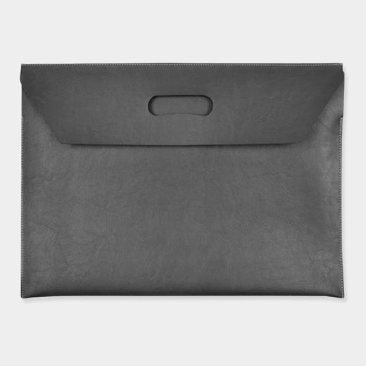 フラップファイルバッグ グレーの商品画像