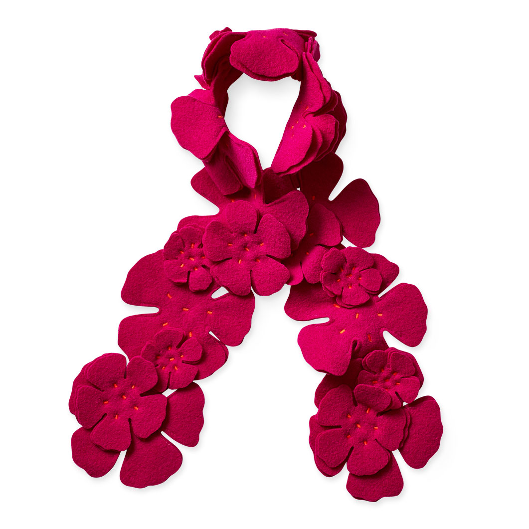 ALOA ブーケ スカーフ フューシャの商品画像