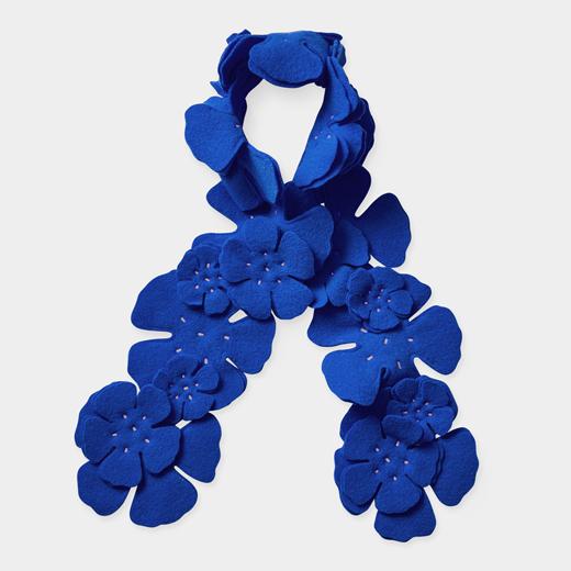 ALOA ブーケ スカーフ ウルトラマリンの商品画像
