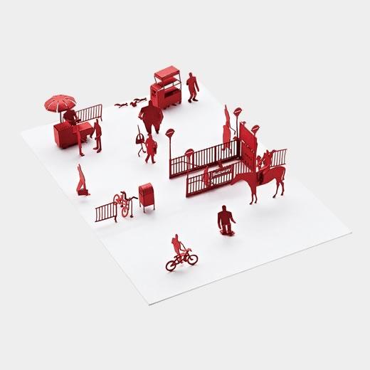 1/100 アーキテクチュアルモデル NYの商品画像