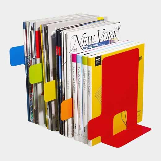 インデックス ブックエンド(5色セット)の商品画像