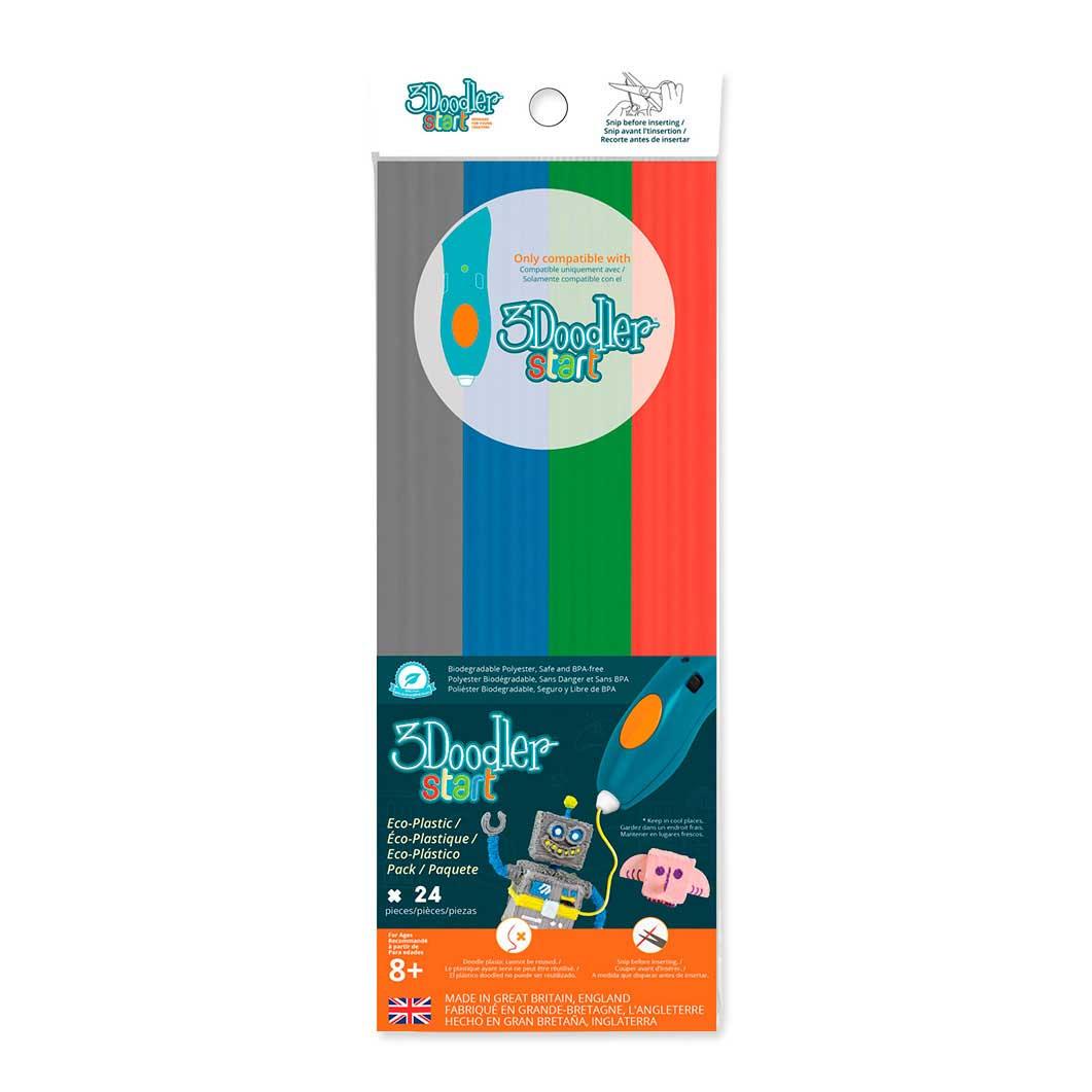 3Doodler スタート 専用プラスチックパック Mix2の商品画像