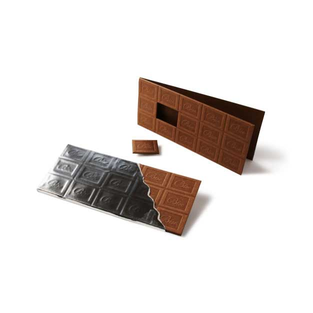ビターチョコレートカードの商品画像