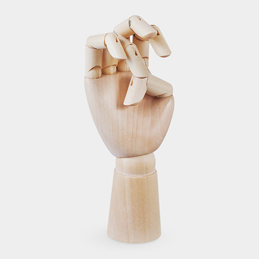 HAY Wooden Hand S オーナメントの商品画像