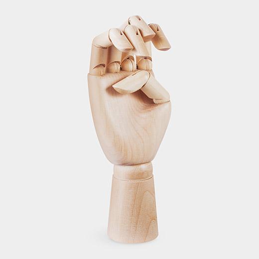 HAY Wooden Hand M オーナメントの商品画像