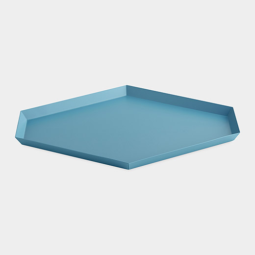 HAY Kaleido トレー L ブルーの商品画像