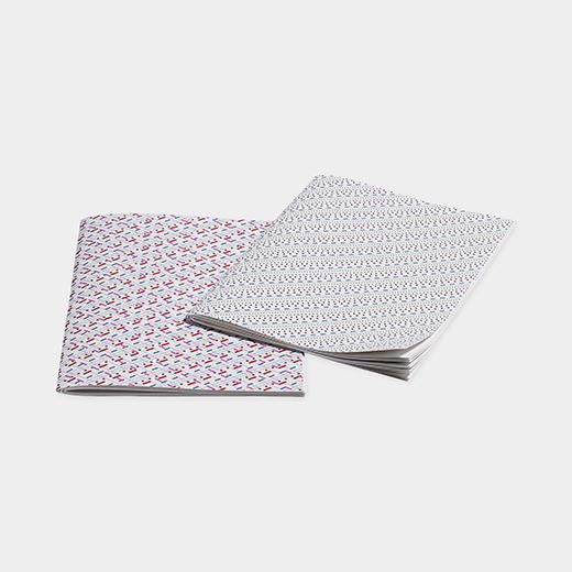 HAY Line Dot ノートブック M ブルー/ピンクの商品画像