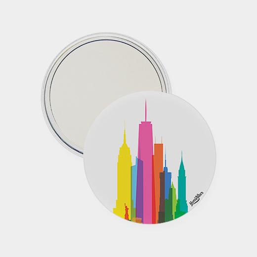 NYCカラースカイライン ミラーの商品画像
