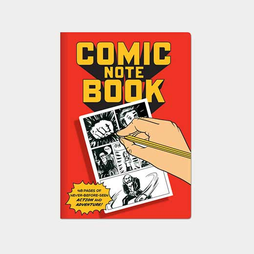 ラージ コミック ノートブックの商品画像