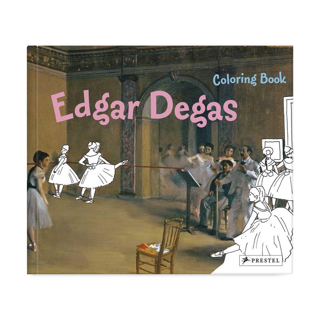 カラーリングブック エドガー・ドガの商品画像