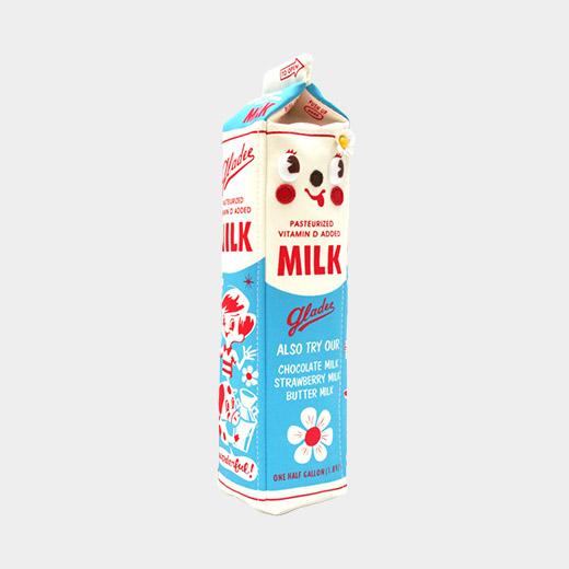 ミルクパック ペンケース プレーンの商品画像