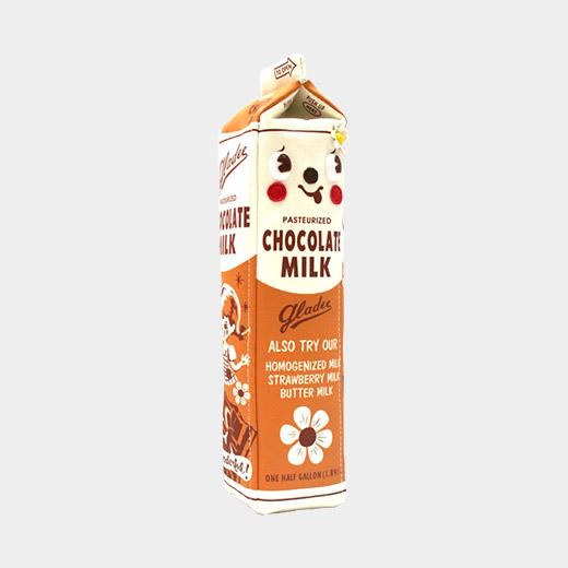 ミルクパック ペンケース チョコレートの商品画像