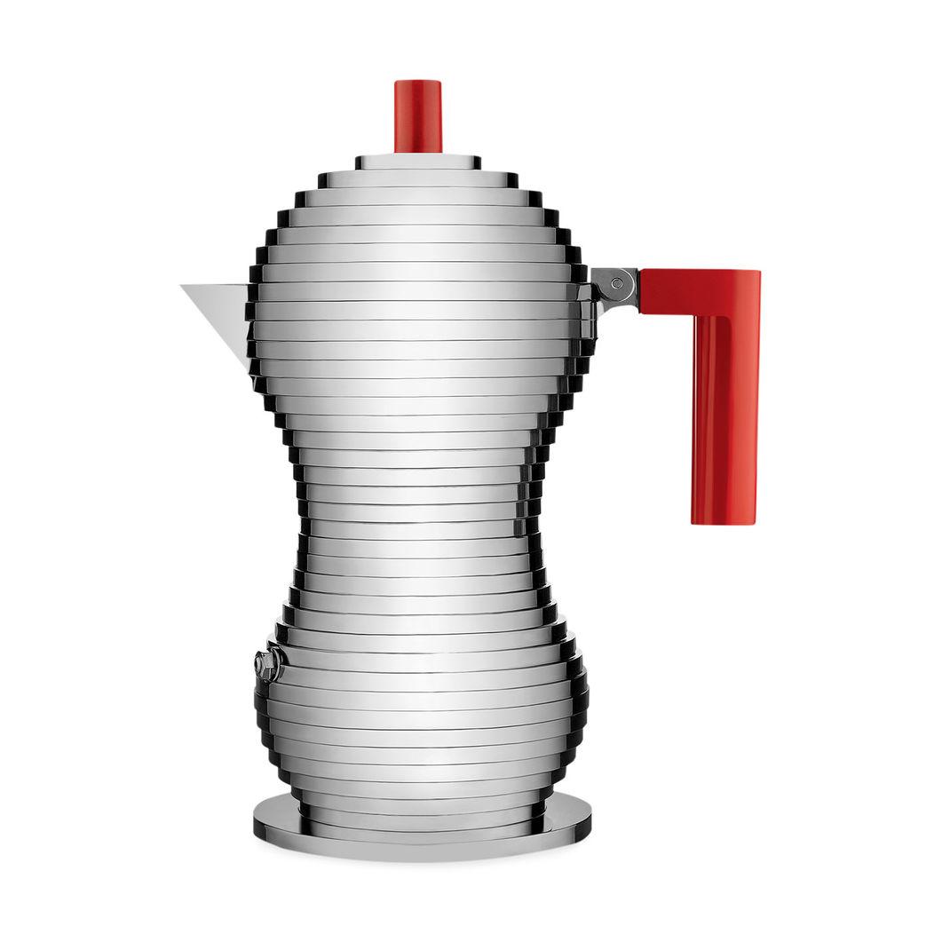 ALESSI Pulcina エスプレッソメーカー 3カップ レッドの商品画像