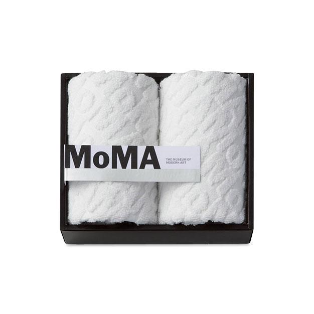 MoMA ジャカード ゲスト タオル(2枚セット)の商品画像