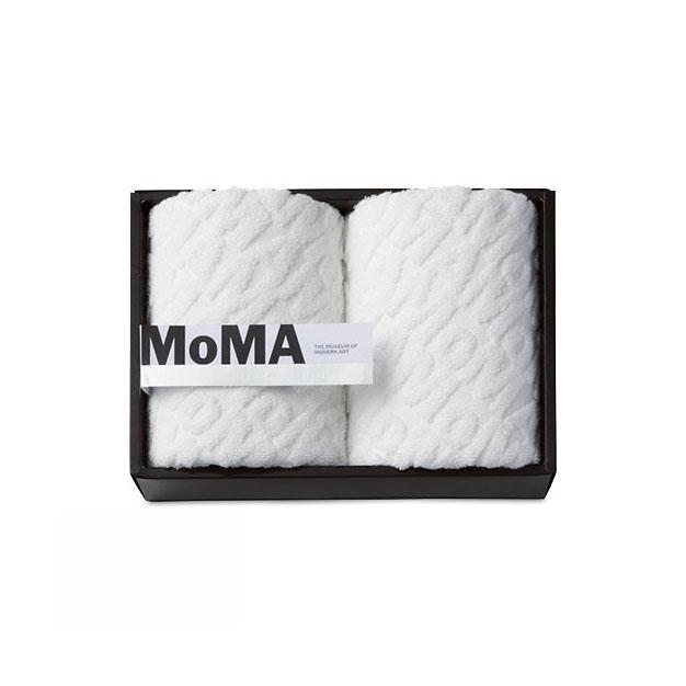 MoMA ジャカード フェイス タオル(2枚セット)の商品画像