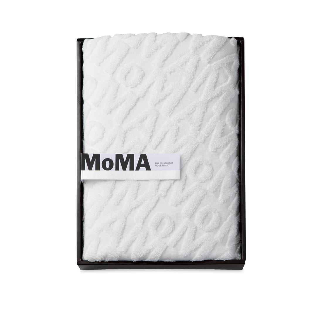 MoMA ジャカード バス タオル(ボックス)