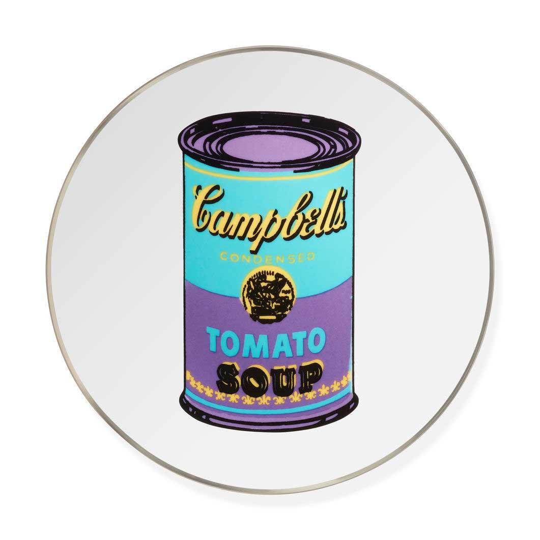 <MoMA> ウォーホル:Soup Cans Purple プレート