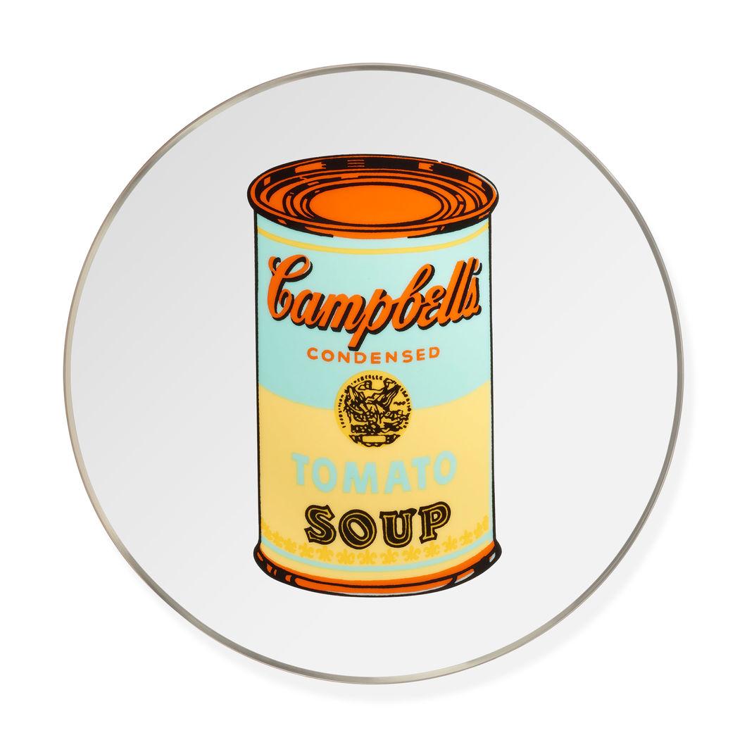 ウォーホル:Soup Cans Yellow プレートの商品画像