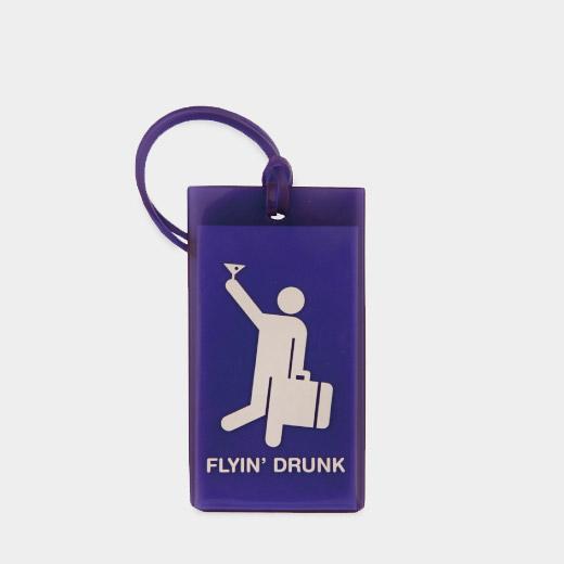 Flight001 ラゲージタグ Flyin' Drunkの商品画像