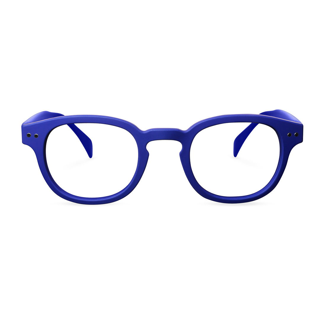 IZIPIZI シニアグラス ブルー 1.0