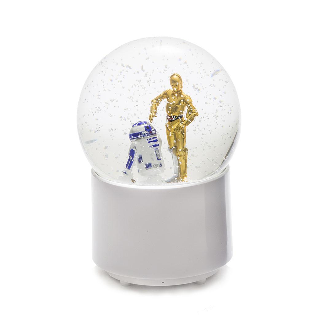 Star Wars スノードーム BT スピーカー R2?D2&C?3POの商品画像