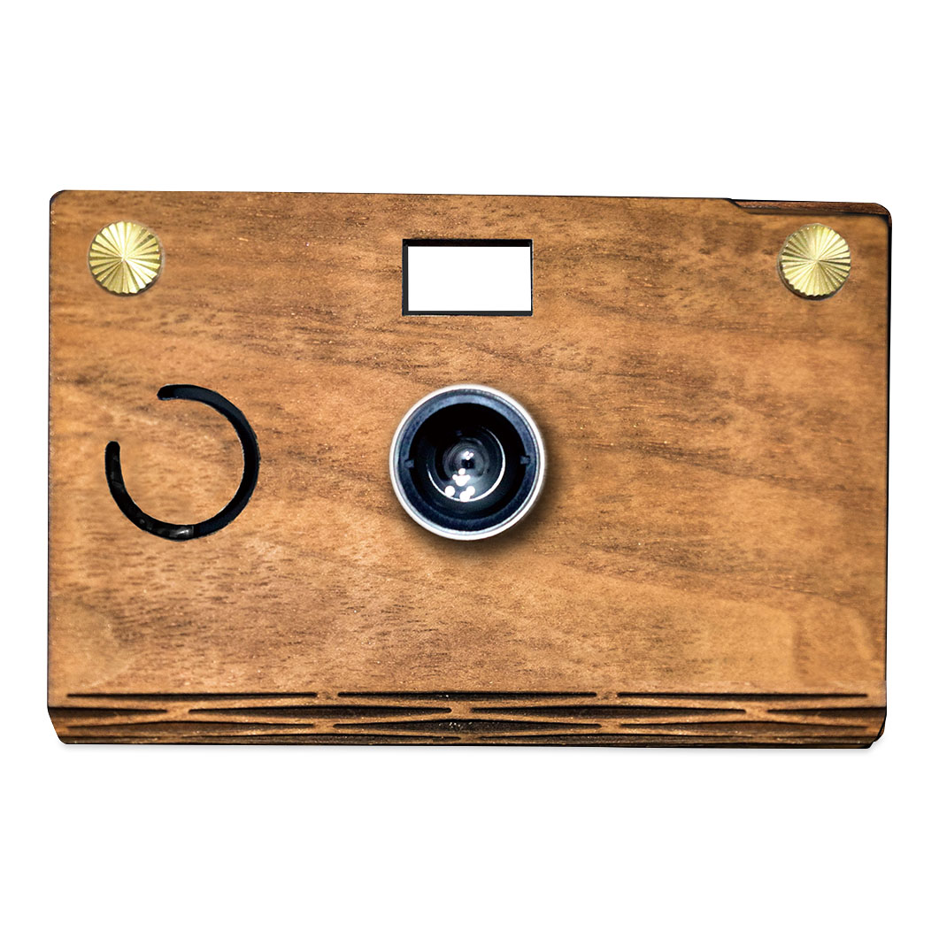 MoMA STORECROZ DIYカメラ ウォルナット