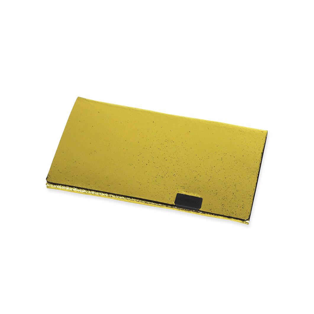 オリガミ カードケース ゴールド/ブラック