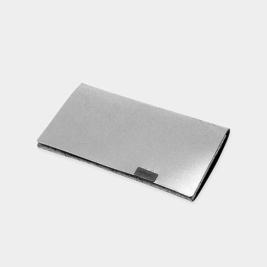 オリガミ カードケース シルバー/ブラック