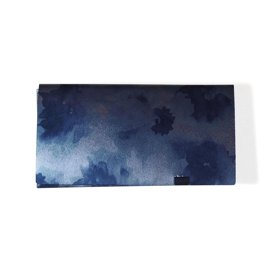 オリガミ ウォレット ロング フローラル/ネイビーの商品画像
