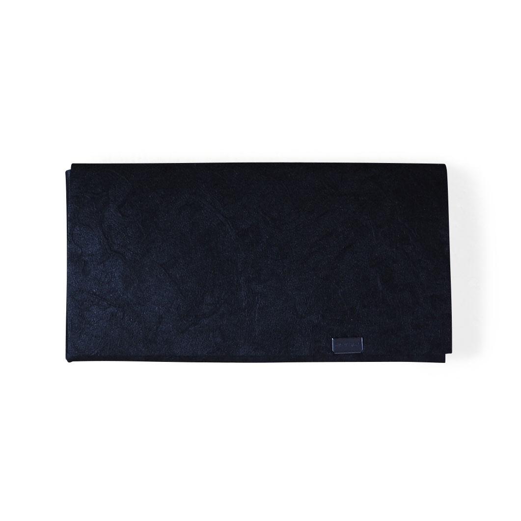 オリガミ ウォレット ロング 黒和紙の商品画像