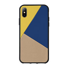 Native Union iPhone X/XS ケース トリコレザー イエロー