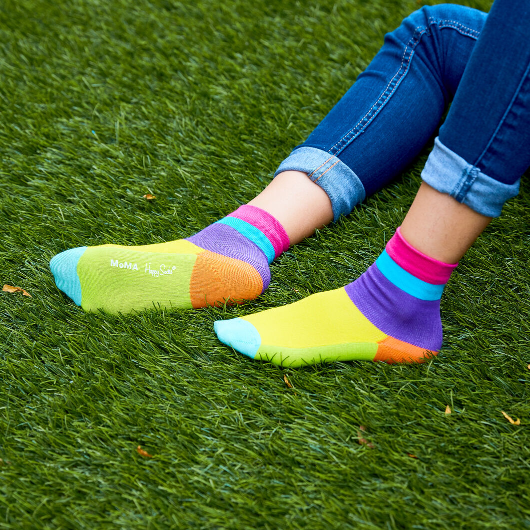 Happy Socks For MoMA Kids セット (7‐9才)