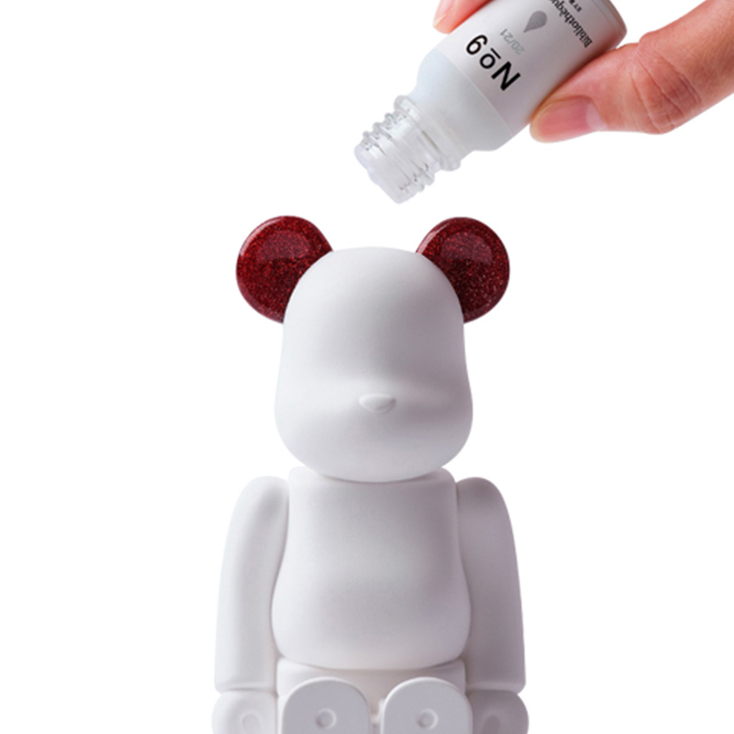BE@RBRICK AROMA ORNAMENT No.9 Galaxy − RED