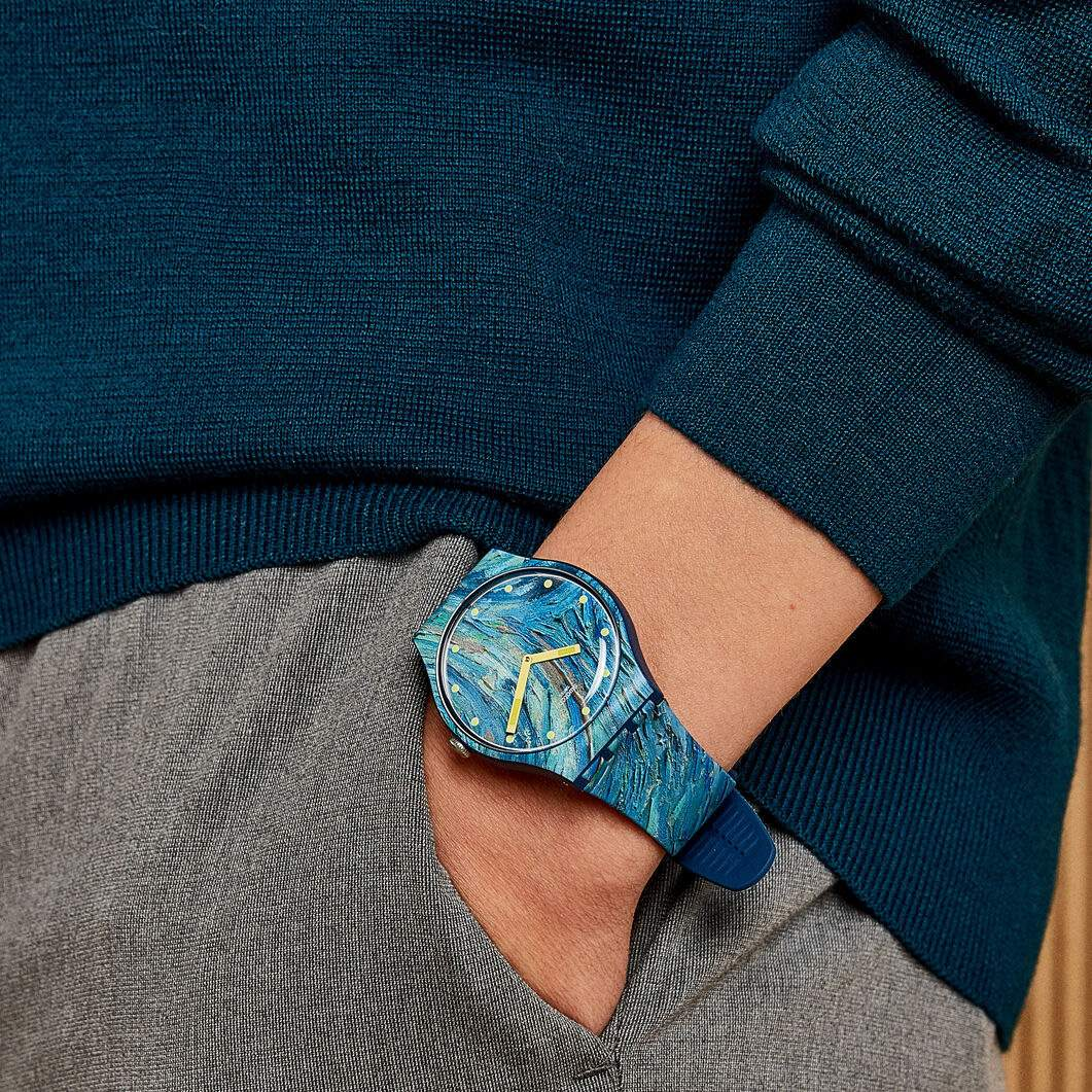 Swatch×MoMA ウォッチ ゴッホ/The Starry Night