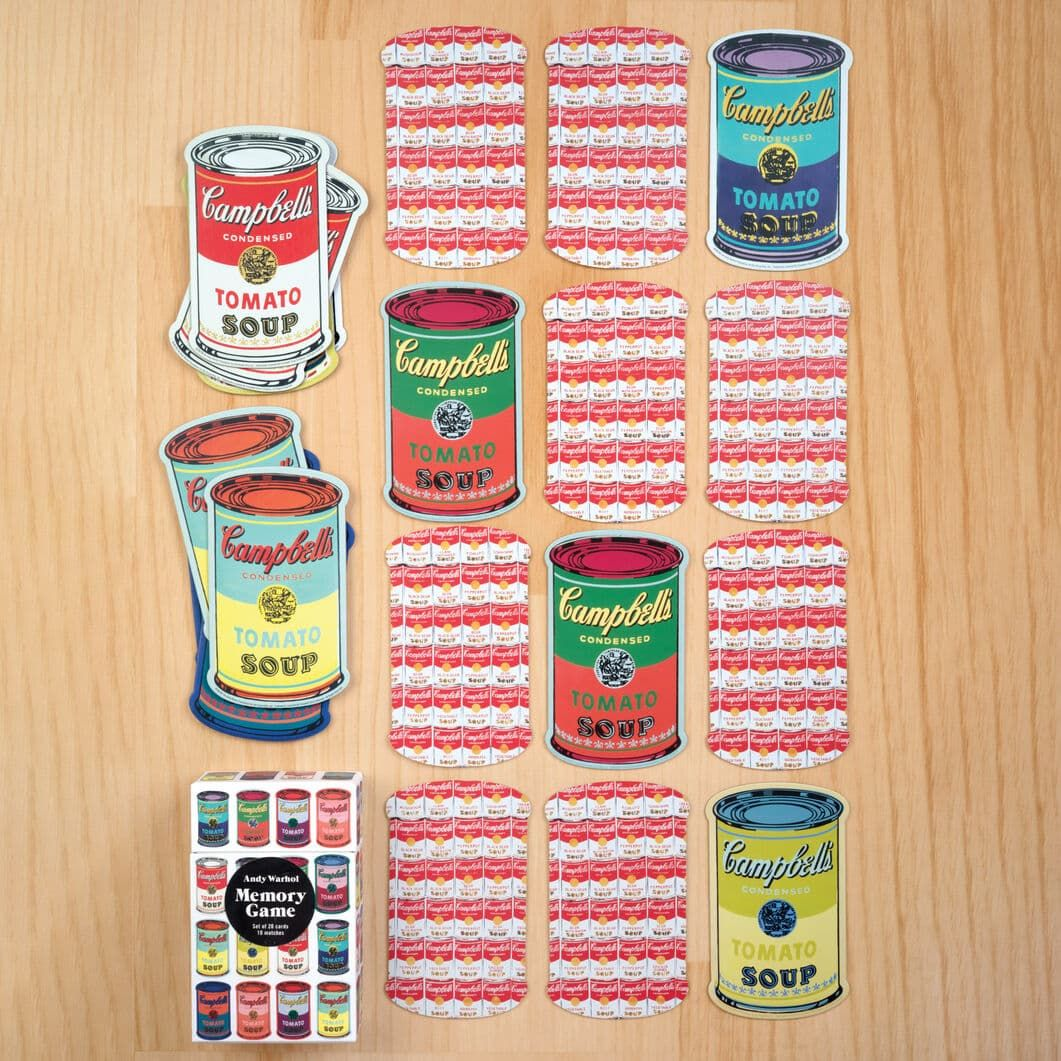 Andy Warhol Soup Can メモリー カード ゲーム