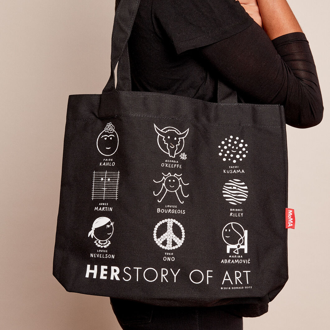 MoMA Herstory of Art トートバッグ