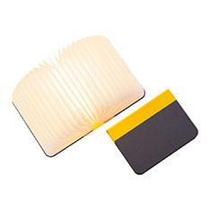 Lumiosf Fabric ブックランプ イエロー/グレーの商品画像