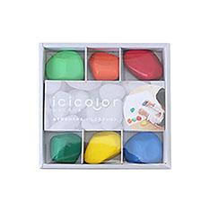 いしころーる(6色セット)の商品画像