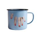 Cattelan エナメル マグ Fingersの商品画像
