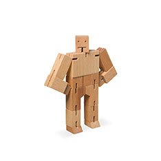 マイクロ キューボット ウッドトイ ナチュラルの商品画像