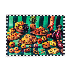 Seletti Wears Toiletpaper Rug:スクエア Food with Holesの商品画像