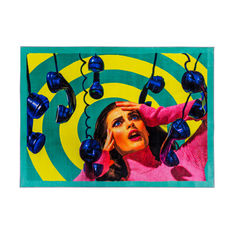 Seletti Wears Toiletpaper Rug:スクエア Phoneの商品画像