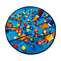 Seletti Wears Toiletpaper Rug:ラウンド Snookerの商品画像