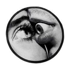 Seletti Wears Toiletpaper Rug:ラウンド Eye & Mouthの商品画像