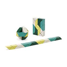 AREAWARE スネークブロック S イエロー/グリーンの商品画像